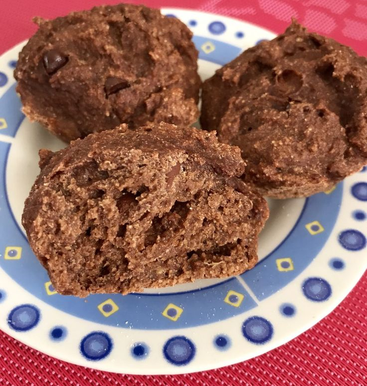 Receta Quequitos de Chocolate y Chips con Okara – Salud Verde
