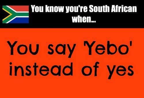 Yebo ;)
