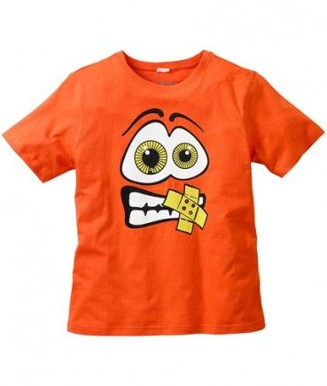 Tricouri ieftine: Tricou baieti BPC portocaliu cu imprimeu