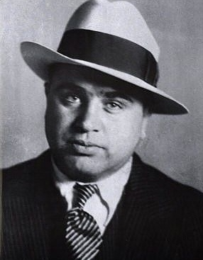 "Alphonse Gabriel ""Al"" Capone,1/17/1899 – 1/25/1947, was an American gangster who led a Prohibition-era crime syndicate. The Chicago Outfit, which subsequently also became known as the ""Capones"", was dedicated to smuggling and bootlegging liquor, and other illegal activities such as prostitution, in Chicago from the early 1920s to 1931."