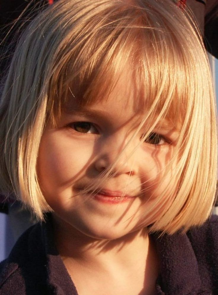 Toddler Girl Hair Bob With Bangs More