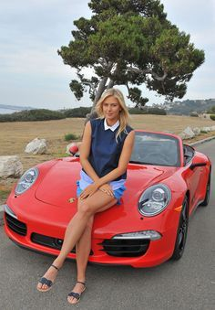Maria Sharapova for Porsche