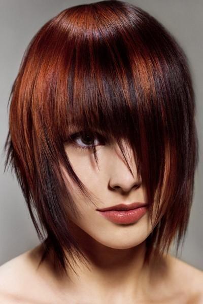 Frisyrer halvlångt hår 51