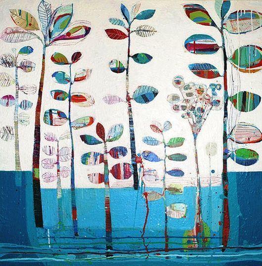Leaf Emporium III- Tiffany Calder Kingston- The Butler Goode Gallery