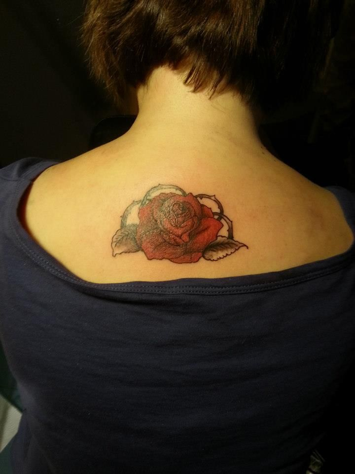 rose.. by Joe BlackInk Tattoo Studio