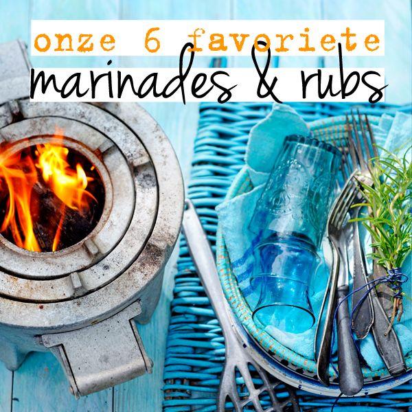 Bbq?Geef vis, kip, vleesen fruit extra smaakmet een marinade of rub.Dit zijn ónze 6 favorieten.  thaise marinade(voor 500 g vis of kip) Meng 3 el Thaise vissaus + 2 el honing +3 el (rijst)olie. Roer er 1 fijngehakte teen knoflook + 1 tl chilivlokken door. Bereiden ± 5 min. / marineren ± 20 … (Lees verder…)