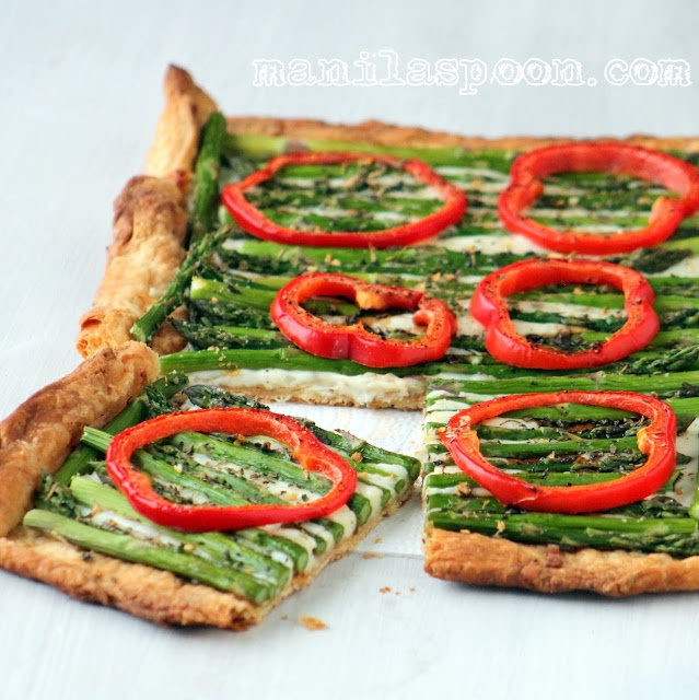 Manila Spoon: Asparagus Gruyere Tart. Skip pastry and put cheese on ...