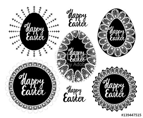 Вектор: Vector elements for Easter.