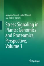 This book brings together both a Genomics and Proteomics approach to further our understanding in this direction. The volume expands on the current understanding from Bioinformatical approaches to develop the models, as well as proving the ideas up to field conditions.  Further, the volume contains comprehensive knowledge of stress signalling useful for graduate students, researchers as well as scientists working in the area. (résumé de l'éditeur)