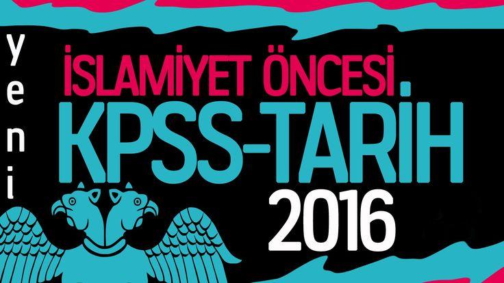 2016 Tarih Kpss - İslamiyet Öncesi Türk Tarihi (yeni)