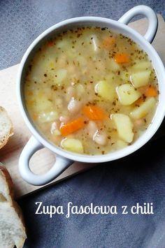 Magiczne życie Marty: Jesienna zupa fasolowa z chili