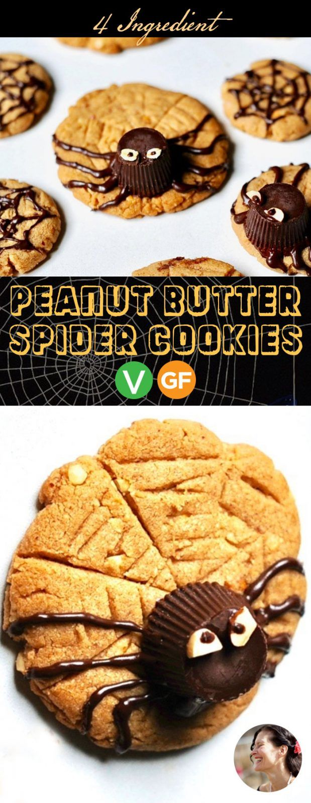 how to make spider cookies