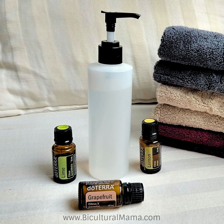 Diy natural fabric softener with essential oils
