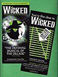 #7: Stephen Schwartz WICKED Carol Kane / Tenth Anniversary 2013 Broadway Flyer