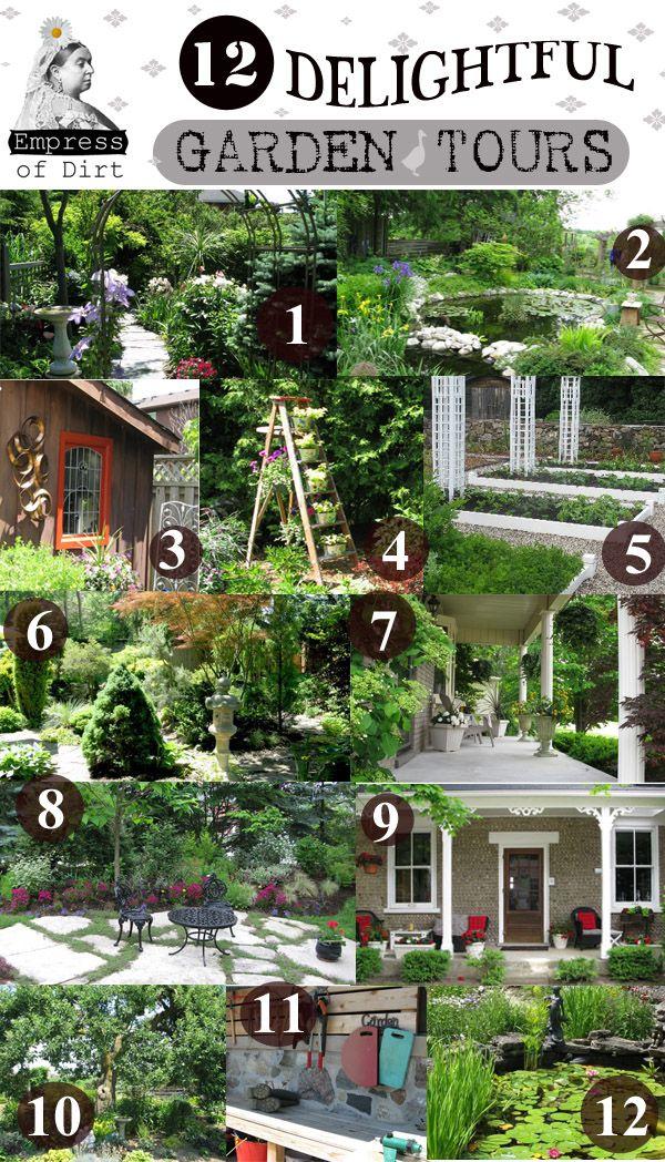 12 Delightful Garden Tours great ideas