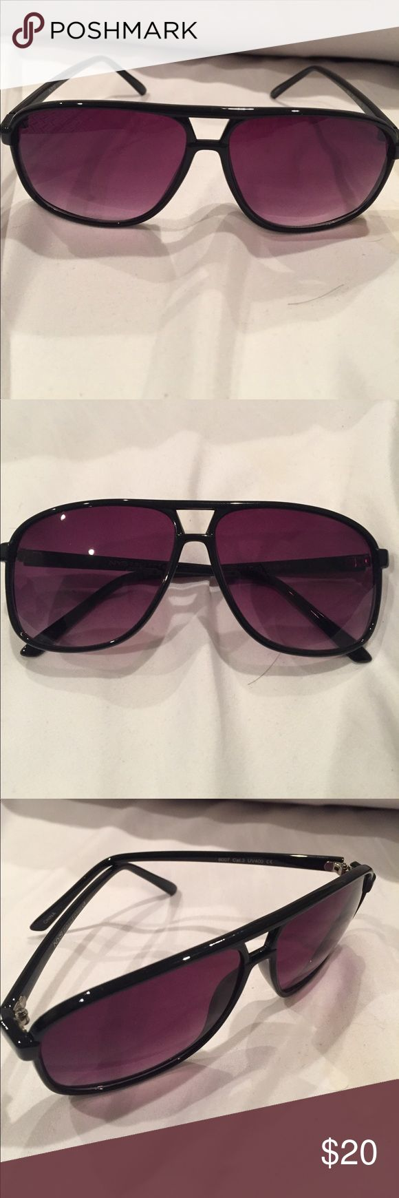 NYS sunglasses Brand new NYS Sunglasses. Never been worn. Bought for my husband but they didn't work out for him. sunglasses bag included. NYS Accessories Sunglasses