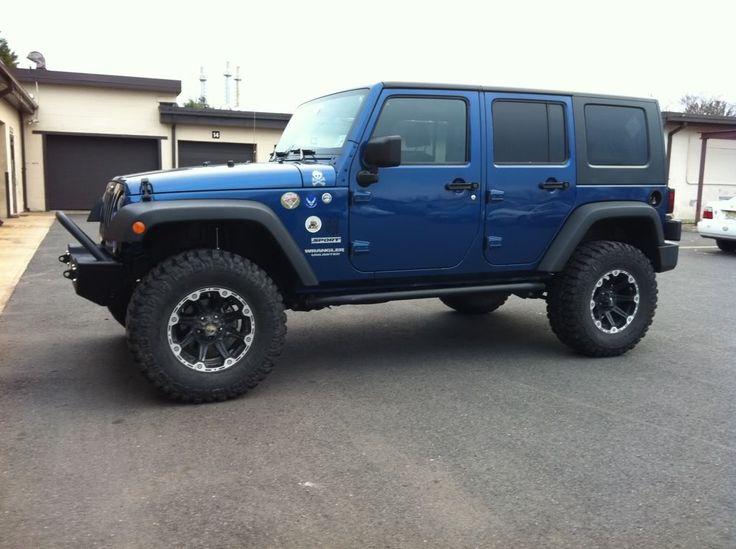 2door jeep wranglers 35s with 4 inch lift | marc 2007 2 door rubicon rock krawler poyl performance river