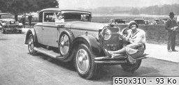 1928 46cv sport Muhlbacher for Gaby Morlay