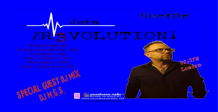 This week DJ MGS joins The R3VOLUTION and brings it to another level. Tune in and hear 2 of SWR's Top DJ's spin 2 hours of House and Techno just for you this Wednesday at 4p on https://soundwaveradio.net/?p=7023