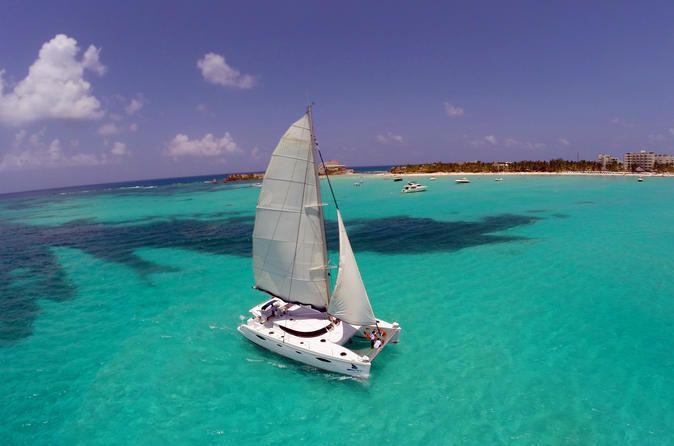 Isla Mujeres All-Inclusive Catamaran Tour from Playa del Carmen - TripAdvisor