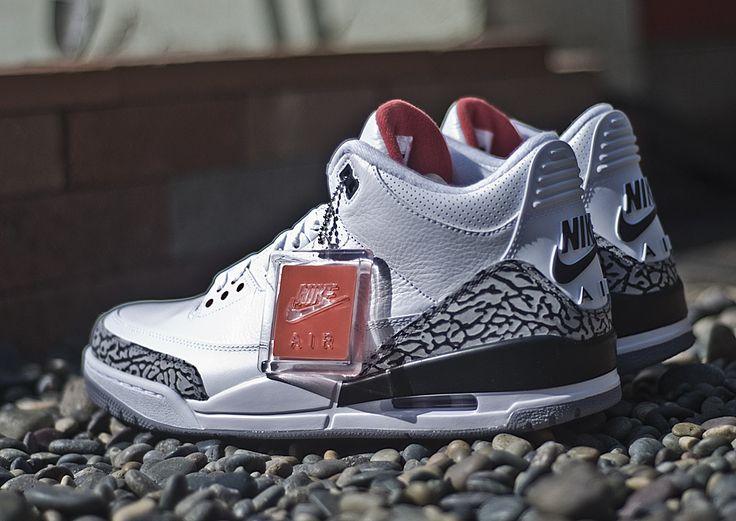"Nike Air Jordan 3 Retro '88 ""White Cement"""