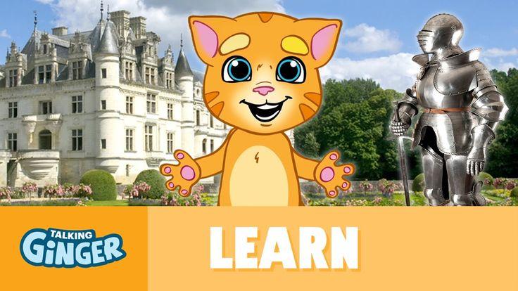 Talking Ginger Explores Castles