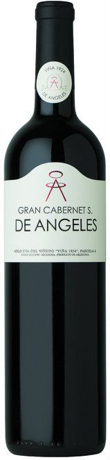 Cabernet Sauvignon 2012 *Gran Cabernet Sauvignon De Angeles  - Bodega Viña 1924 de Angeles, Luján de Cuyo, Mendoza, Argentina---------------------------------Terroir: Vistalba (Luján de Cuyo) - Mendoza, Argentina----------------Crianza: 14 meses en barricas de roble francés