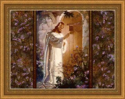 Jesus knocking on hearts door