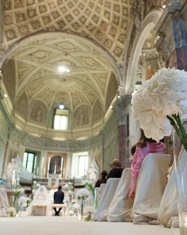 www.italianfelicity.com #wedding #ceremony #hydrangea #ortensia