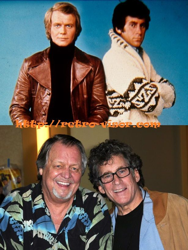 El tiempo no pasa en balde. David Soul y Paul Michael Glaser (Starsky & Hutch)