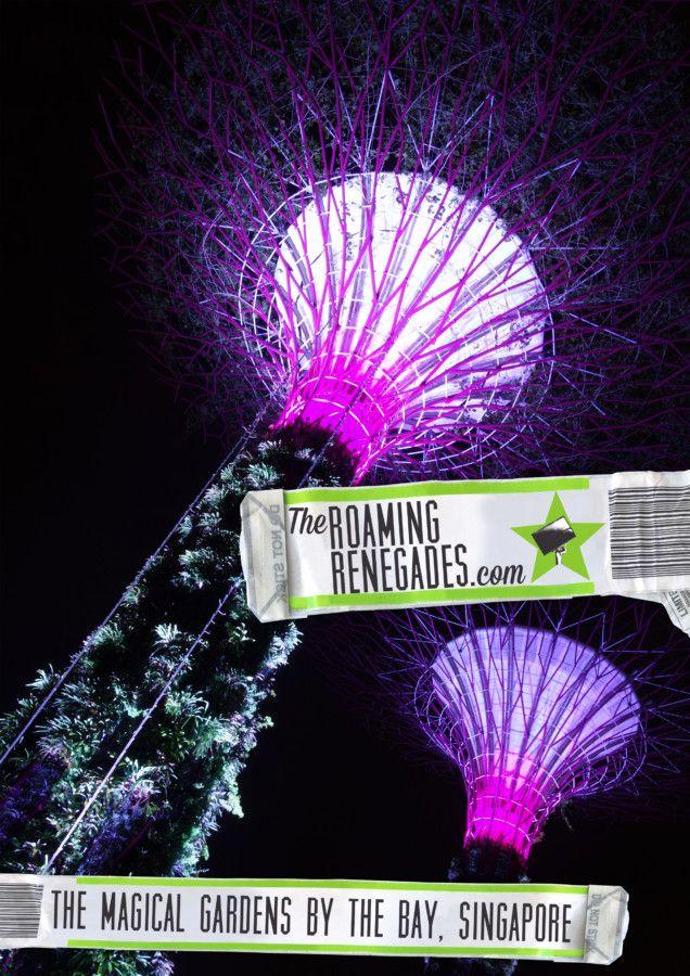 the magical gardens by the bay singapore by day night httpstheroamingrenegadescom201709gardens bay singaporehtml travel singapore