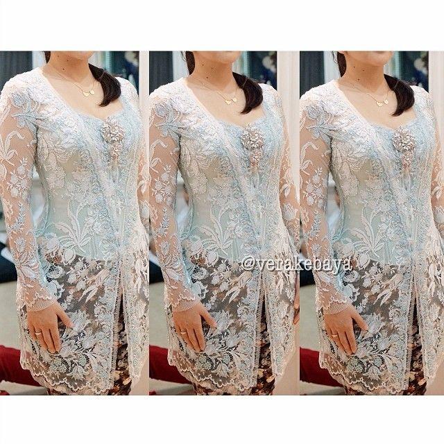 Fitting 50% #kebaya kakak #pengantin #batik #verakebaya ❤️❤️❤️ thank @mimski18