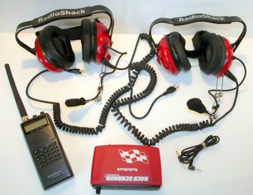 Radio Shack Pro 89 NASCAR Scanner w Headphones w Headphones - Picked: $21.00 SOLD: $182.50