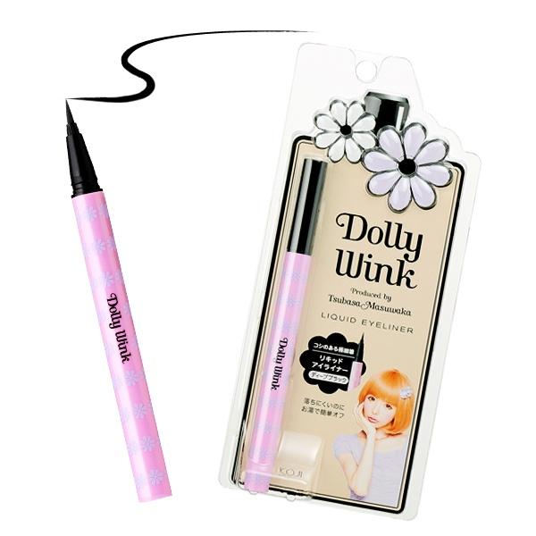 Dolly Wink Deep Black Liquid Eyeliner Ⅱ