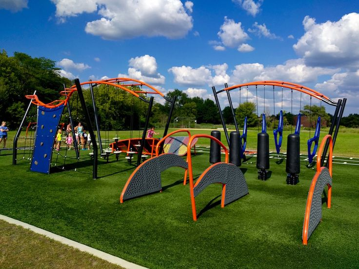 If you're kids like American Ninja Warrior, they are going to love Summerlakes Park in Warrenville! We have the details of how it works. See pictures too!