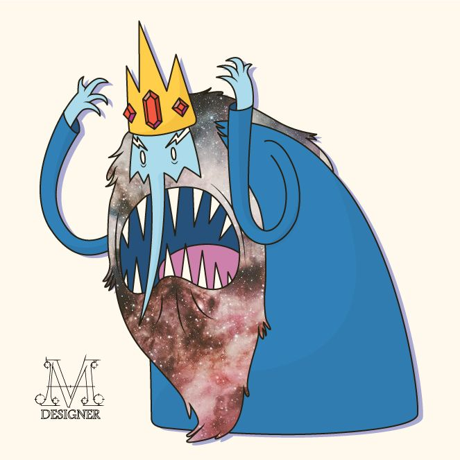 Ice King - See more - https://www.behance.net/gallery/36053775/Hora-de-Aventura