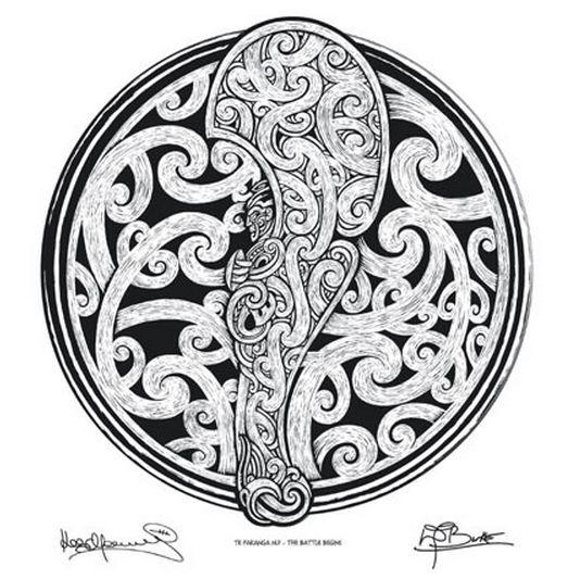 Toru - Te Pakanga Nui by David Burke and Kees Meuws