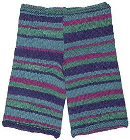 Pattern instructions in free download. This basic pattern lets you create fun and colorful pants for baby without a lot of effort: simply allow the yarn to work its magic. If you are particular, it is possible to match the color repeats on the legs; we chose to let the colors land where they may. FREE pattern download..