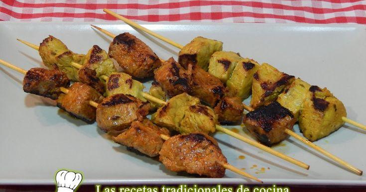 Cómo hacer pinchos morunos o pinchitos         -          Recetas de cocina con sabor tradicional