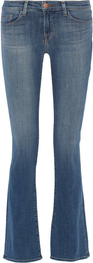 J Brand Betty mid-rise bootcut jeans