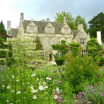 Barnsley House is a small and very beautiful hotel with a wonderful restaurant.