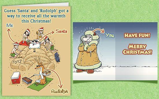 Funny Christmas Card Sayings