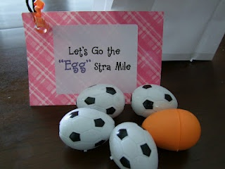11 best treat tags for the team images on pinterest cheerleading lets go the eggstra mile negle Images
