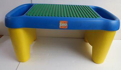 Lego Duplo Mega Bloks Lap Desk Table Storage Building