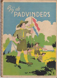 kampeeren, verzameling (oude) kampeerboeken: Bij de padvinders