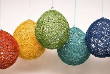 1000 ideas about yarn balloon on pinterest string for Balloon string decorations