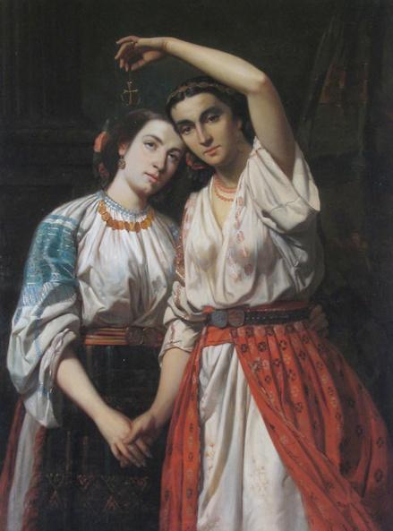The Romanian Blouse painted by Theodor Aman    24th of January  - The Union of the Principates    http://www.trilulilu.ro/imagini-arta-cultura/unirea-principatelor-romane-moldova-si-tara-romane
