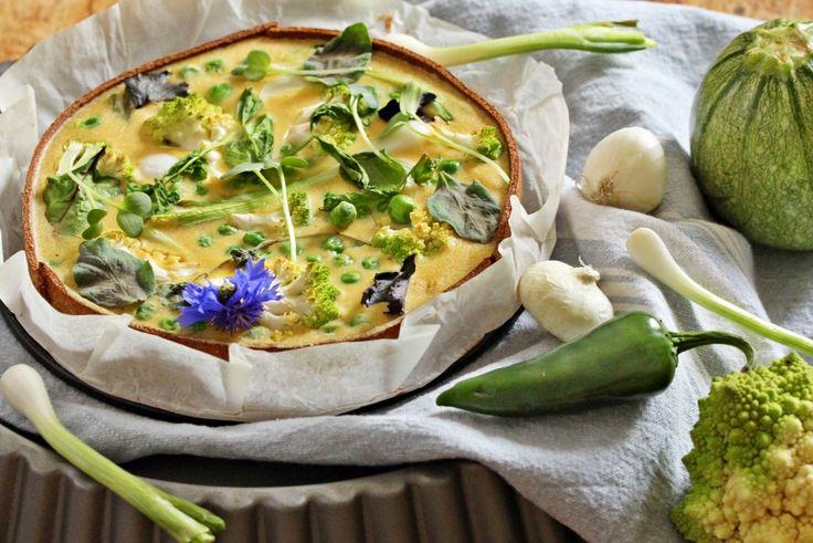 Rezept Lizza grüne Quiche | Lizza