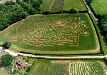 Adrian Fisher corn maze