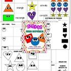 Dual Language Shapes Unit, great activities!! Includes cards and puppets :) $